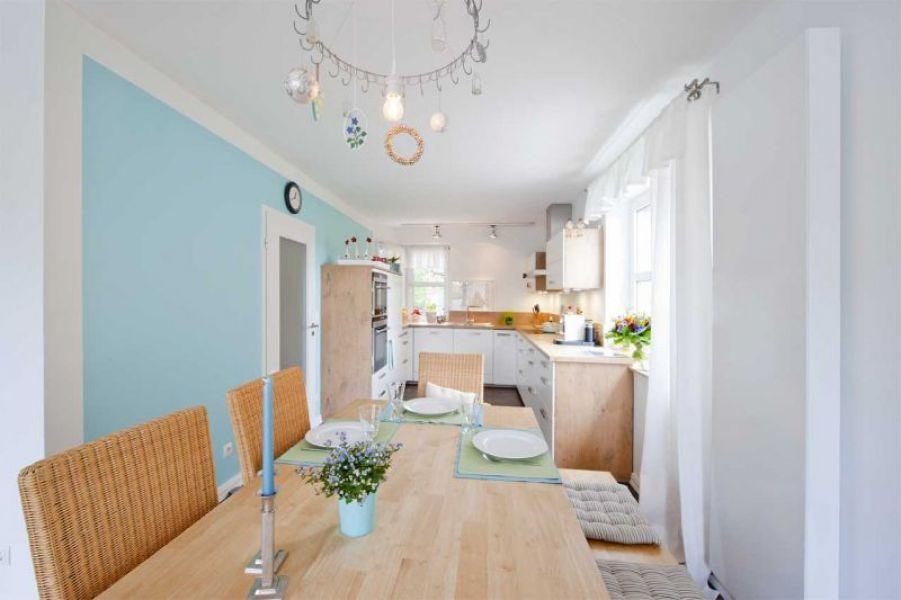 Kche reihenhaus cool modernes reihenhaus in top living for Mikrowelle kleine kuche